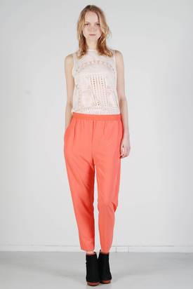 BZR: Elinore Pink Trousers