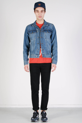 Cheap Monday: Staple Denim Jacket Blue Standard