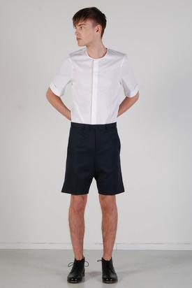 Carin Wester: Samir Blue Petunia Shorts