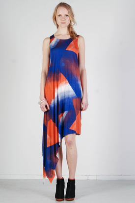 Tiger: Stain Pattern Dress