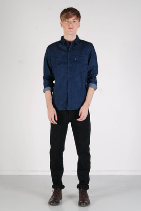 Levis: Worker Shirt Rinse Denim