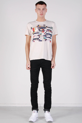 Ben Sherman: Graphic Tees Light Sand Marl