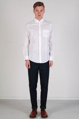 Ben Sherman: Soho Fit Fashion Shirt Bright White