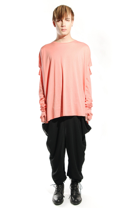 Odeur: Square Long Tee Coral