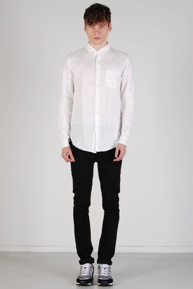 L'Homme Rouge: Needs Linen Shirt White