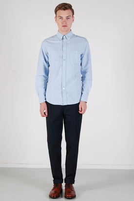 Ben Sherman: Mod Fit Dusk Blue Shirt