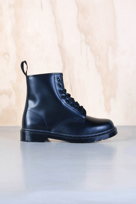 Dr Martens: 1460 Black Smooth Mono