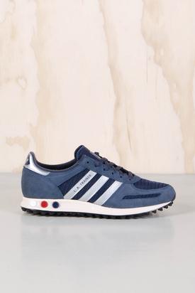 Adidas: LA Trainer Navy/Silver