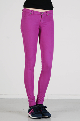 Dr Denim: Kissy Grape Jeansleggings
