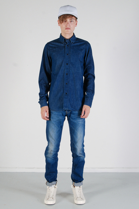 The Blue Uniform: Agne Denim Shirt