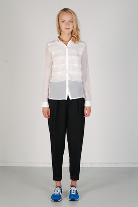S'nob: Olga White Shirt