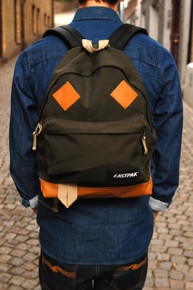 Eastpak: Padded Pak'r Returnity Green