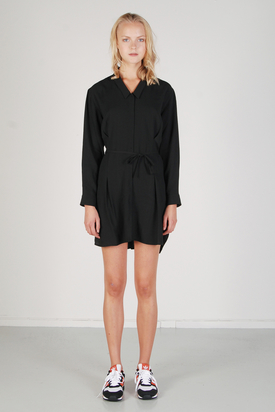 BZR: Scarlet Black Shirt Dress