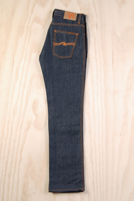 Nudie: Slim Jim Dry Broken Twill Jeans