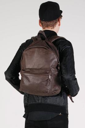 Eastpak: Padded Pak'r Barista Brown Leather