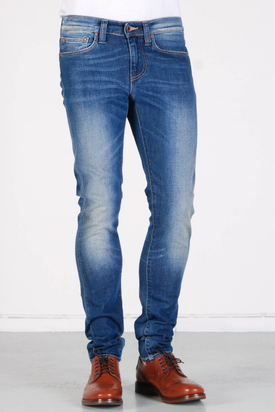 Edwin: ED-88 Superslim Blue Rustler Wash