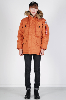 Alpha Industries: Polar Jacket Burned Orange