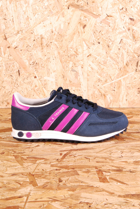 Adidas: LA W Trainer Pink Stripes