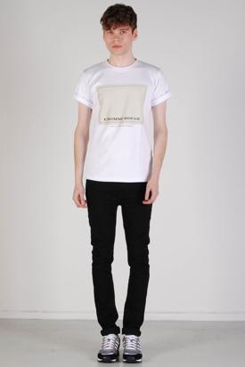 L'Homme Rouge: LHR Print 270g Short T-shirt