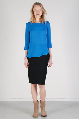 Carin Wester: Shirin Blue Top