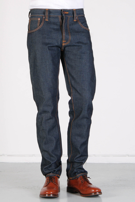 Nudie: Sharp Bengt Dry Dirt Organic Jeans