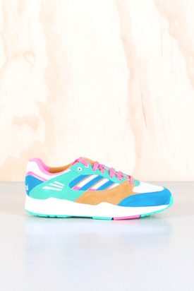 Adidas: Tech Super W White/Pink/Blue