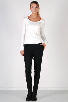 S'nob: Round BV1 White Top