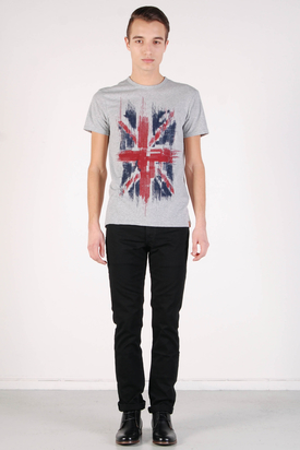 Ben Sherman: Graphic Tees Oxford Grey Marl