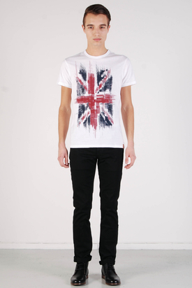 Ben Sherman: Graphic Tees Bright White