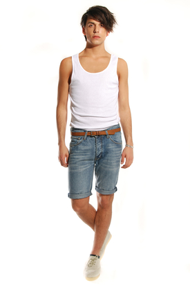 Dr Denim: Raine Light Aged Shorts