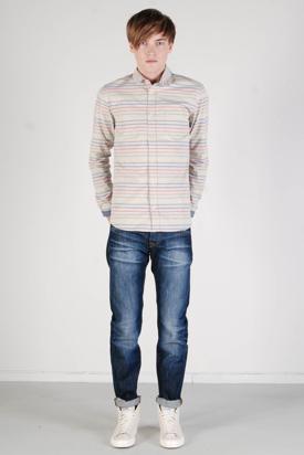 Samsøe & Samsøe: Jay Multi Stripe Shirt