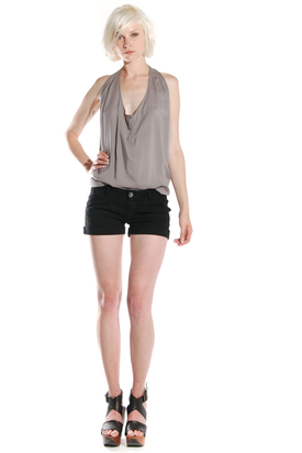 Dr Denim: Ninny Light Black Shorts