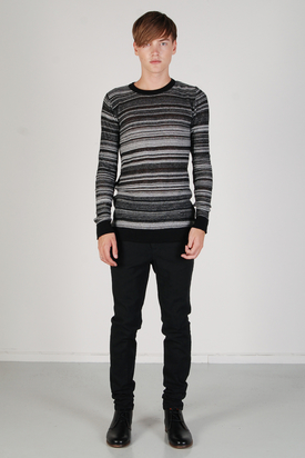 Odeur: Askew Knit Charcoal