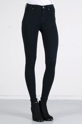 Dr Denim: Plenty Jeanstights Black