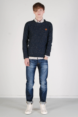 Revolution: Kasper Knit Navy Sweater