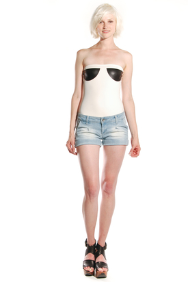 Dr Denim: Ninny Light Antique Shorts