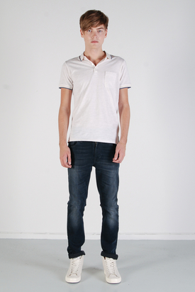 Ben Sherman: S/S Polo Light Sand Marl
