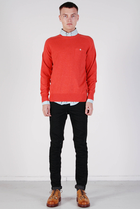 Ben Sherman: Knit Wear Cranberry Marl