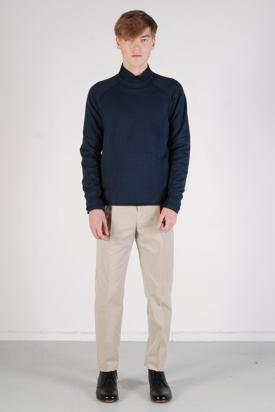Bruuns Bazaar: Benjamin Navy Sweatshirt