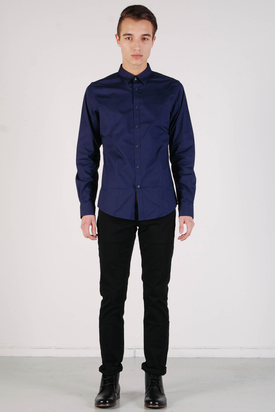 Ben Sherman: Fashion Shirt Eclipse Blue