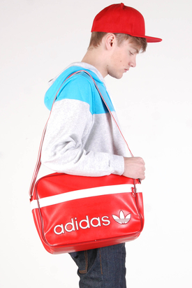 Adidas: AC Airline Red Vivid White Bag