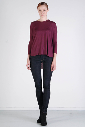 BZR: Ruby T-shirt Burgundy