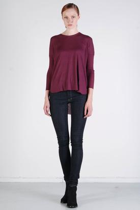 BZR: Ruby T-shirt Burgundy