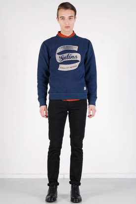 Lee: Crew SWS Navy Sweater