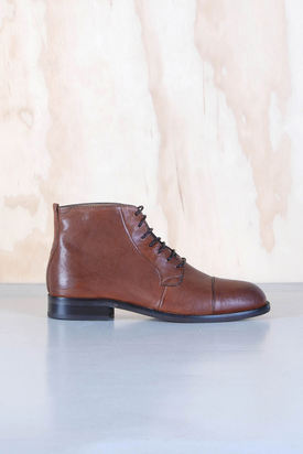 H By Hudson: Fenway Tan Boots