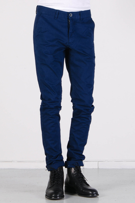 Dr Denim: Heywood Ink Blue Chinos