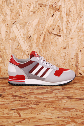 Adidas: ZX 700 UniRed/White/Grey