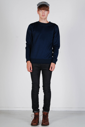 Samsøe & Samsøe: Trailer Blue Iris Sweater