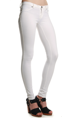 Dr Denim: Kissy Jeanstights White