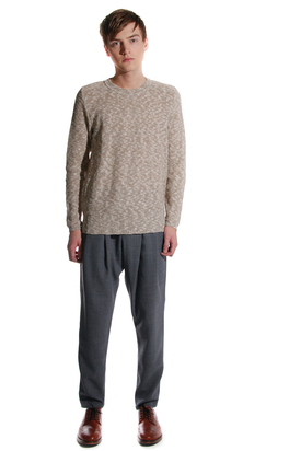 Lagom: Sand Melange Sweater